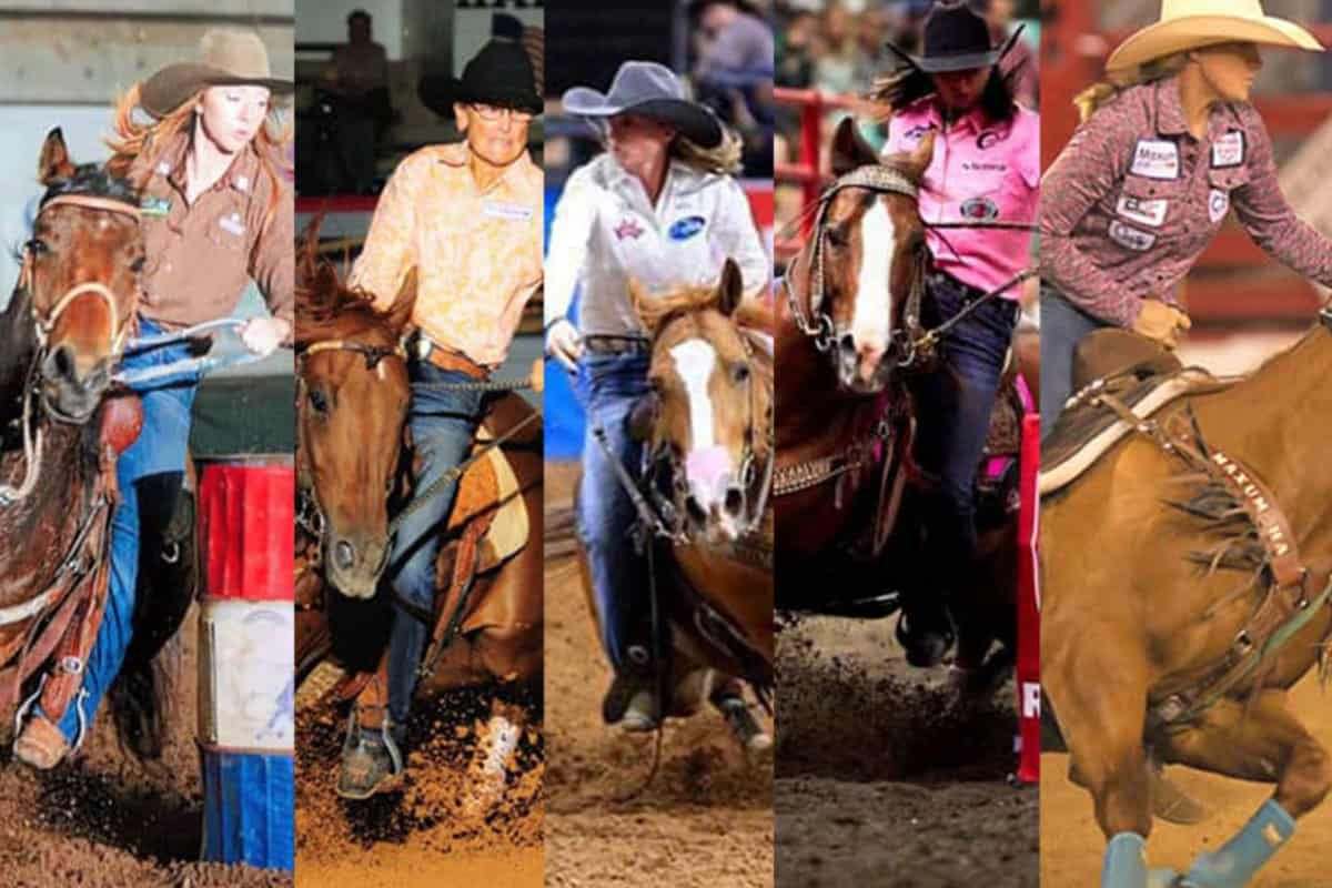 nfr rookie cowgirls