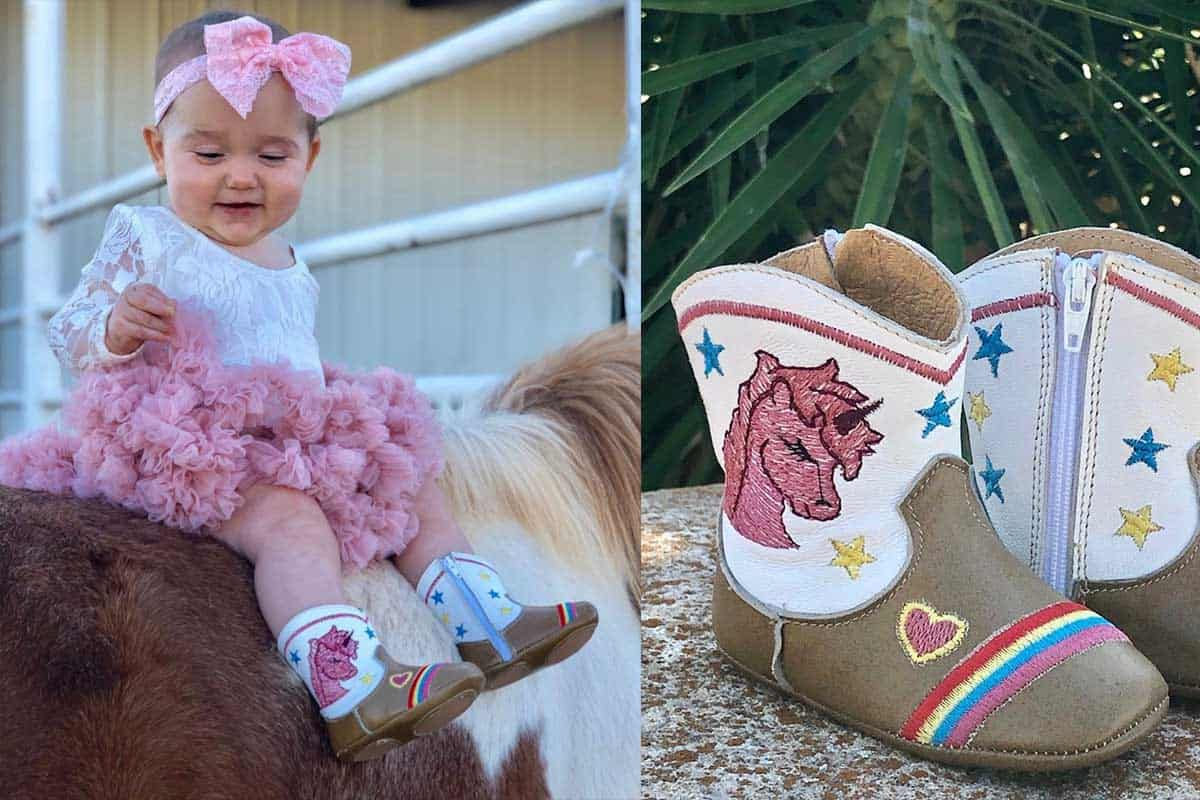 shea baby boots unicorn boots baby boot cowgirl magazine
