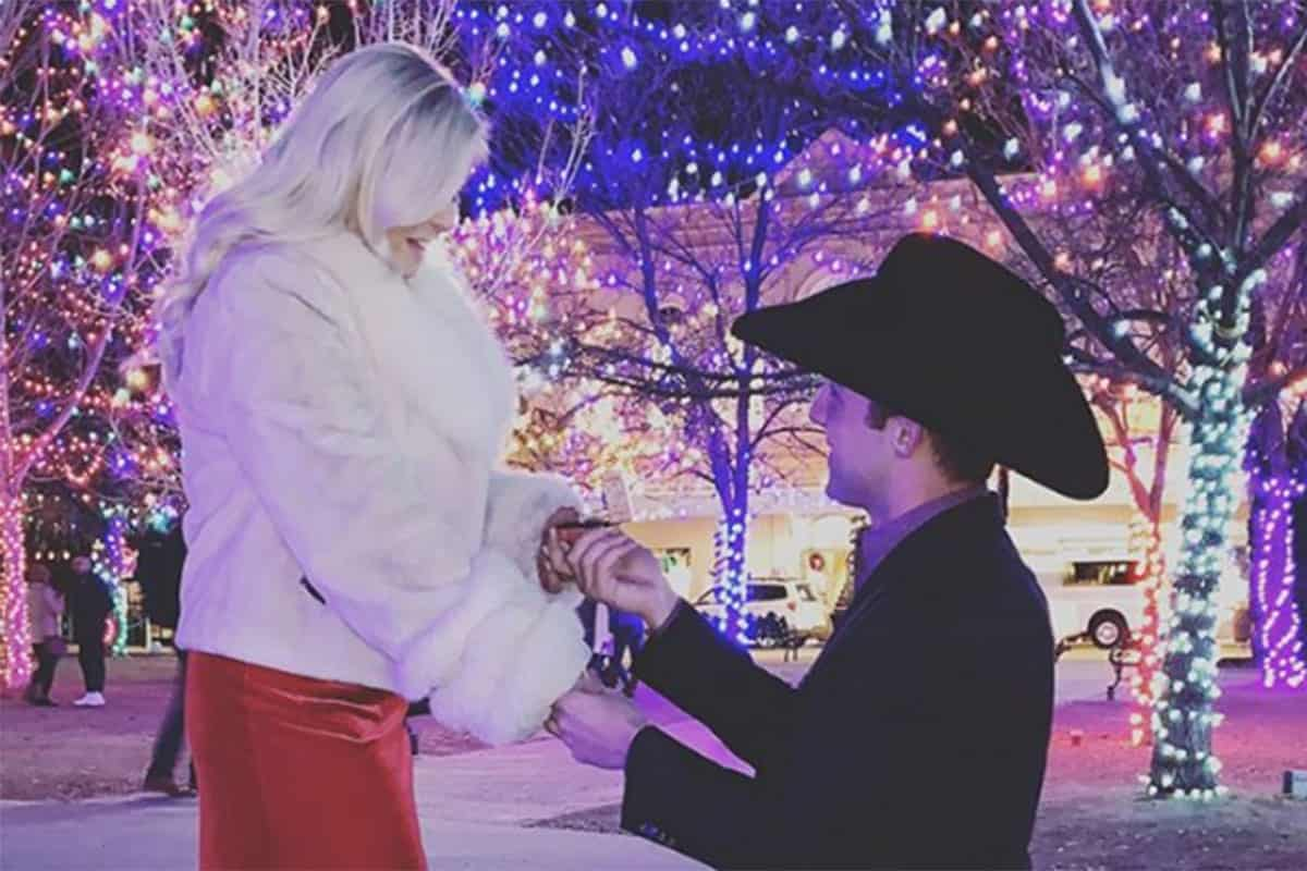 alexis bloomer and sage kimzey engaged cowgirl magazine