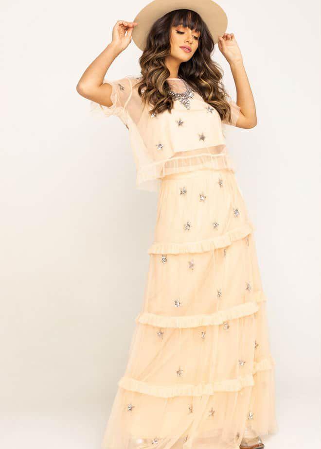 Star Two Piece Dress Cowgirl Magazine