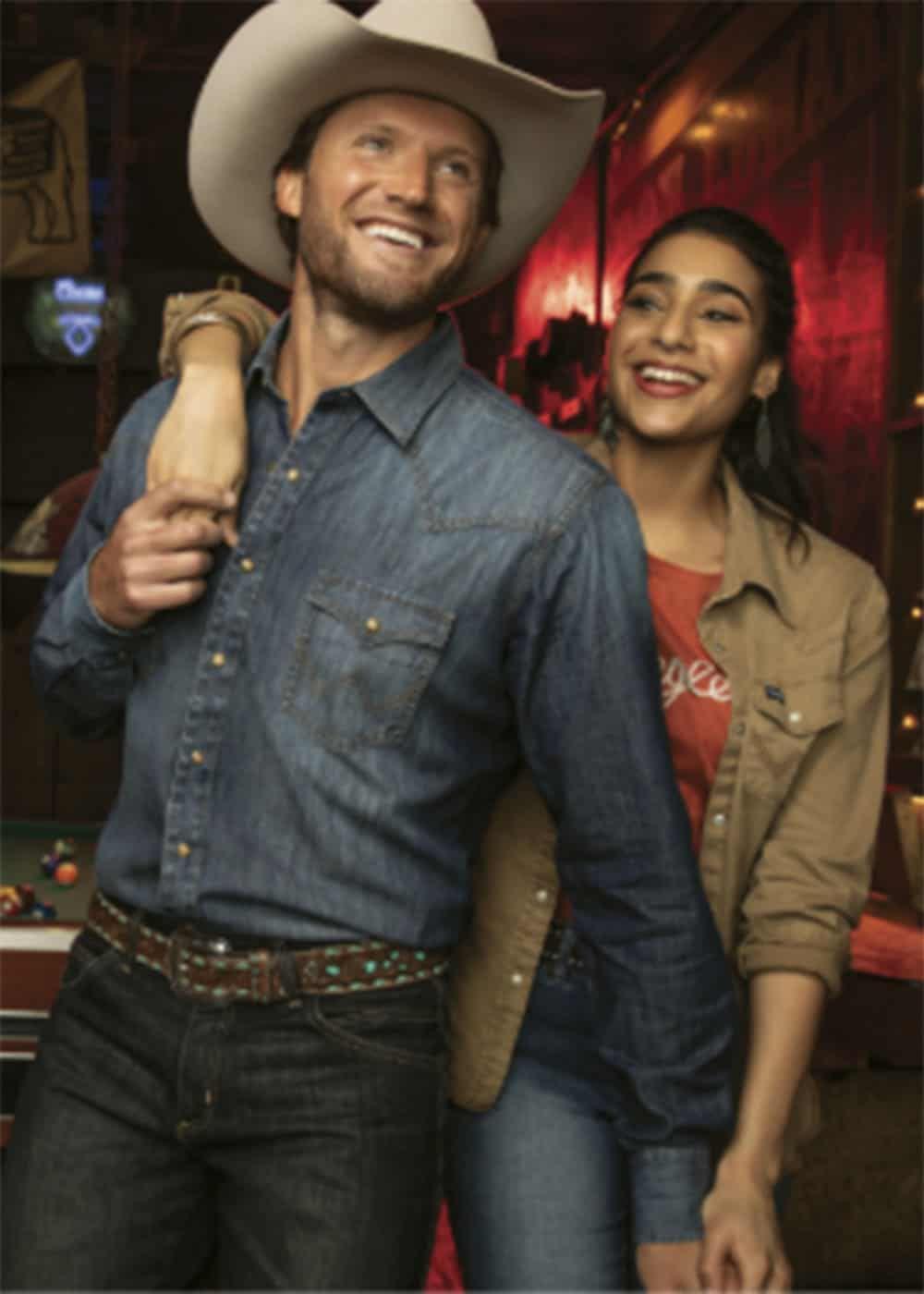 mens denim shirt cowgirl magazine