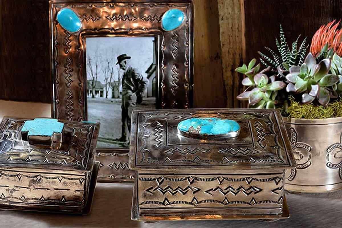 j Alexander Silver home decor cowgirl magazine
