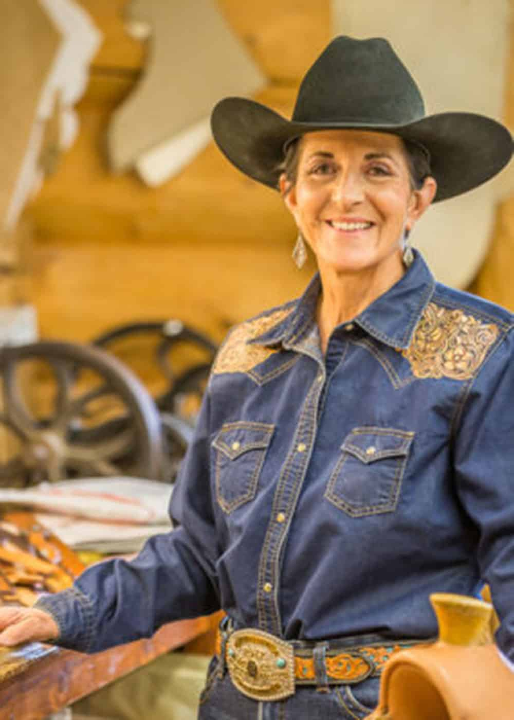 nancy martiny master artists art of the cowgirl cowgirl magazine