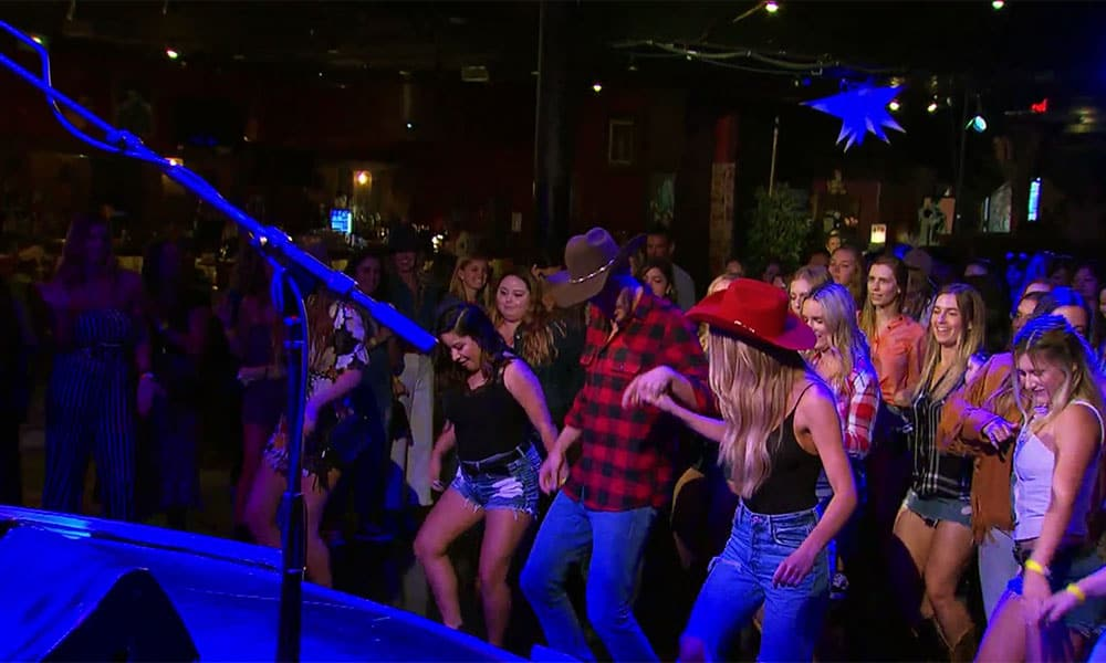 the bachelor line dancing cowgirl magazine