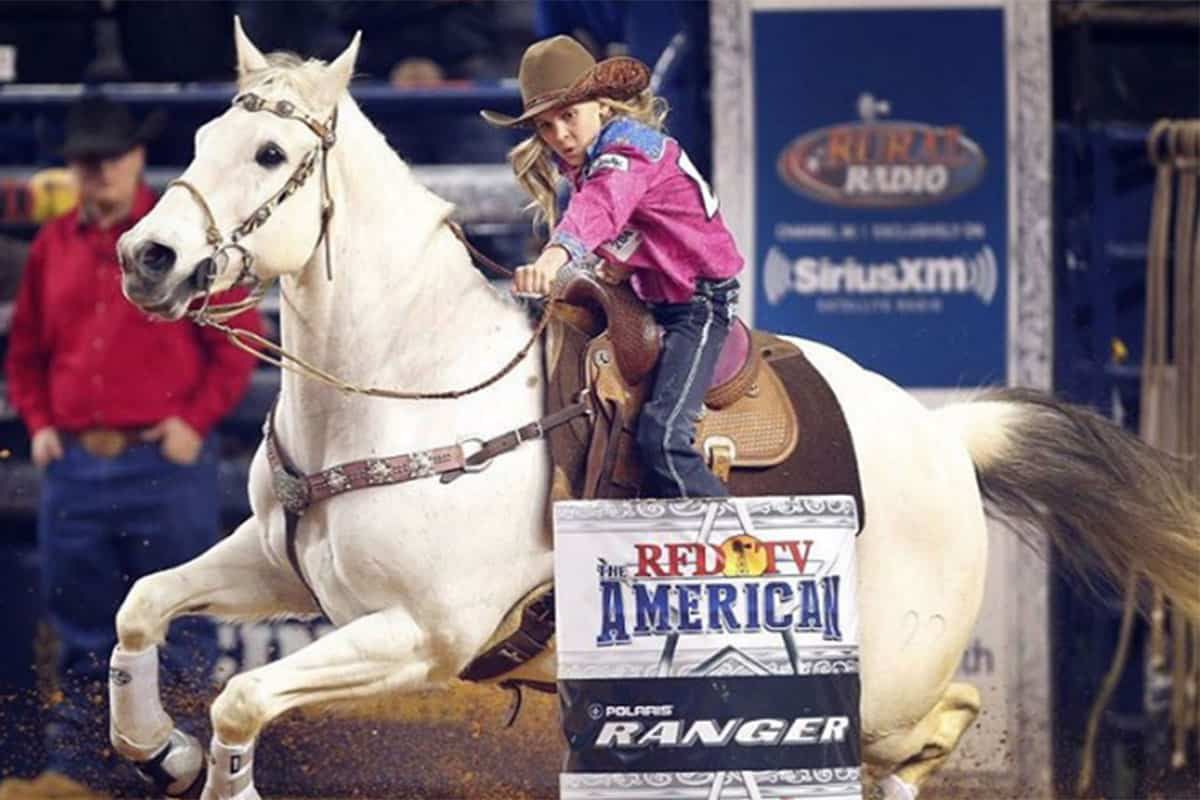 rfd-tv's the american rodeo barrel racing cowgirl magazine