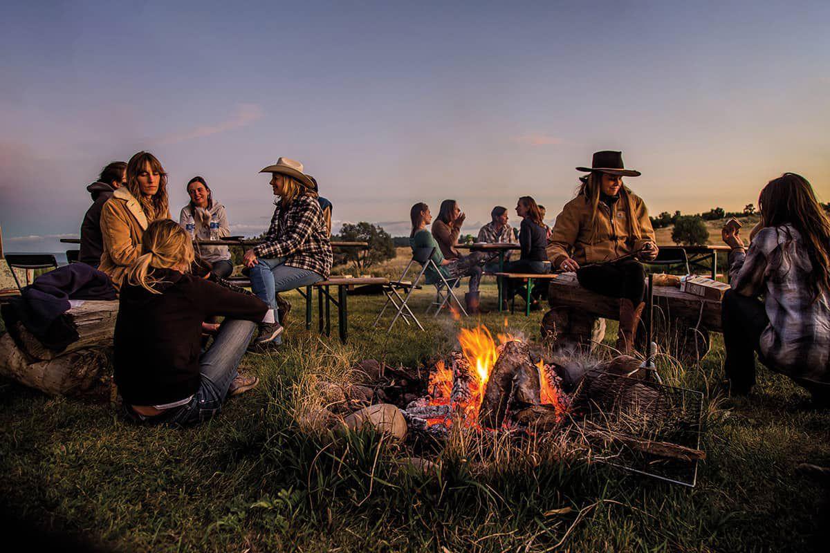 women in ranching