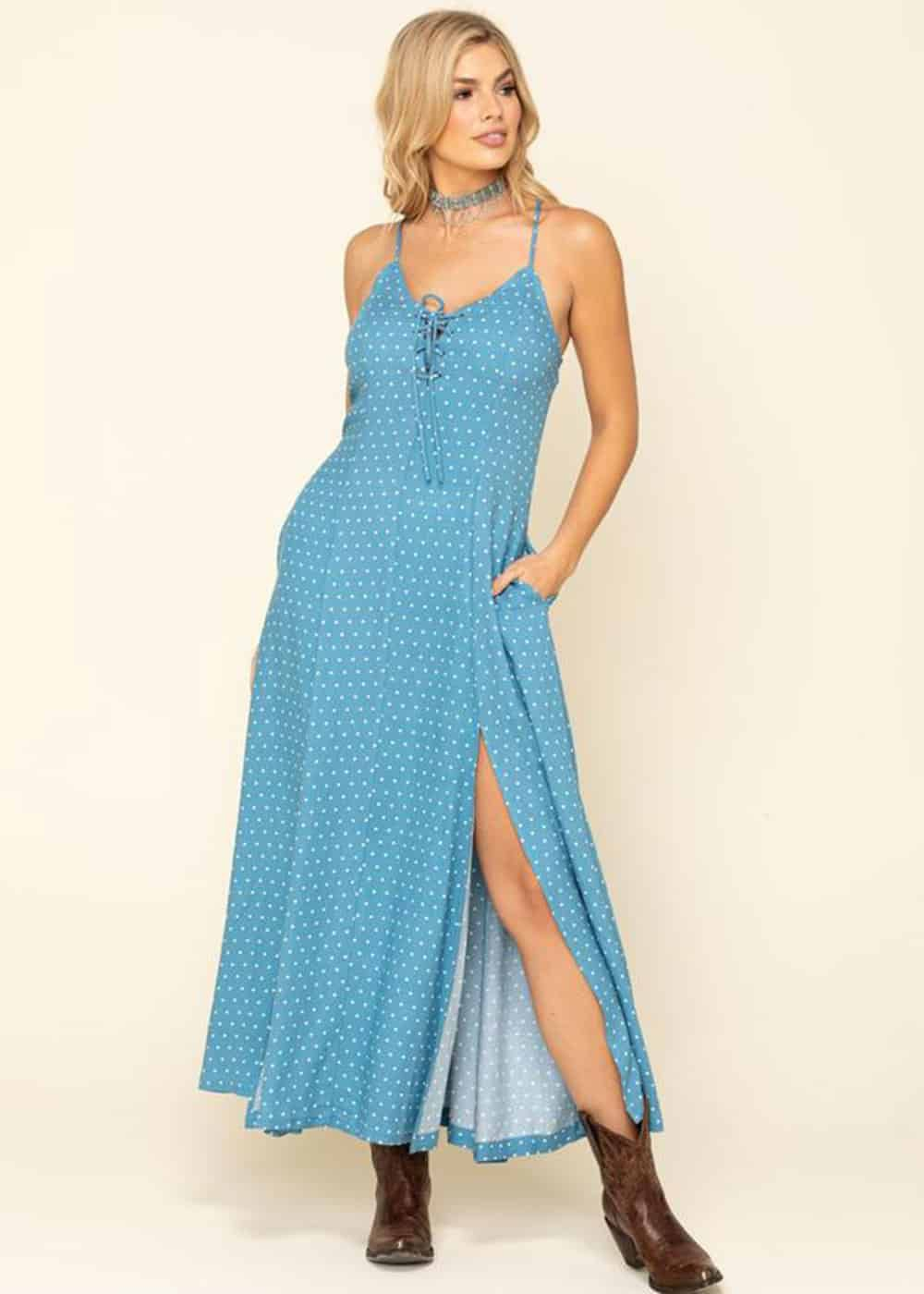 blue dress cowgirl magazine