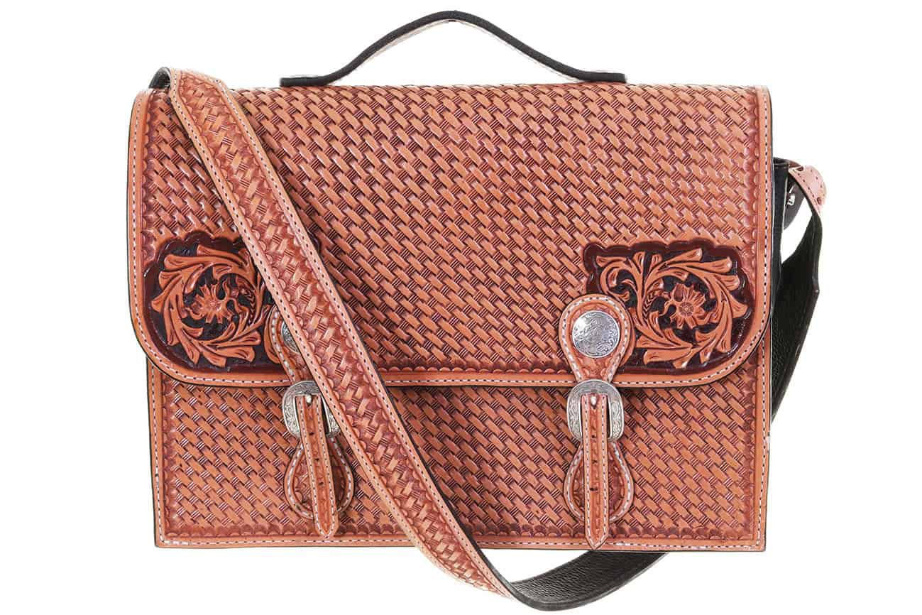 Leather Briefcase Cowgirl Magazine