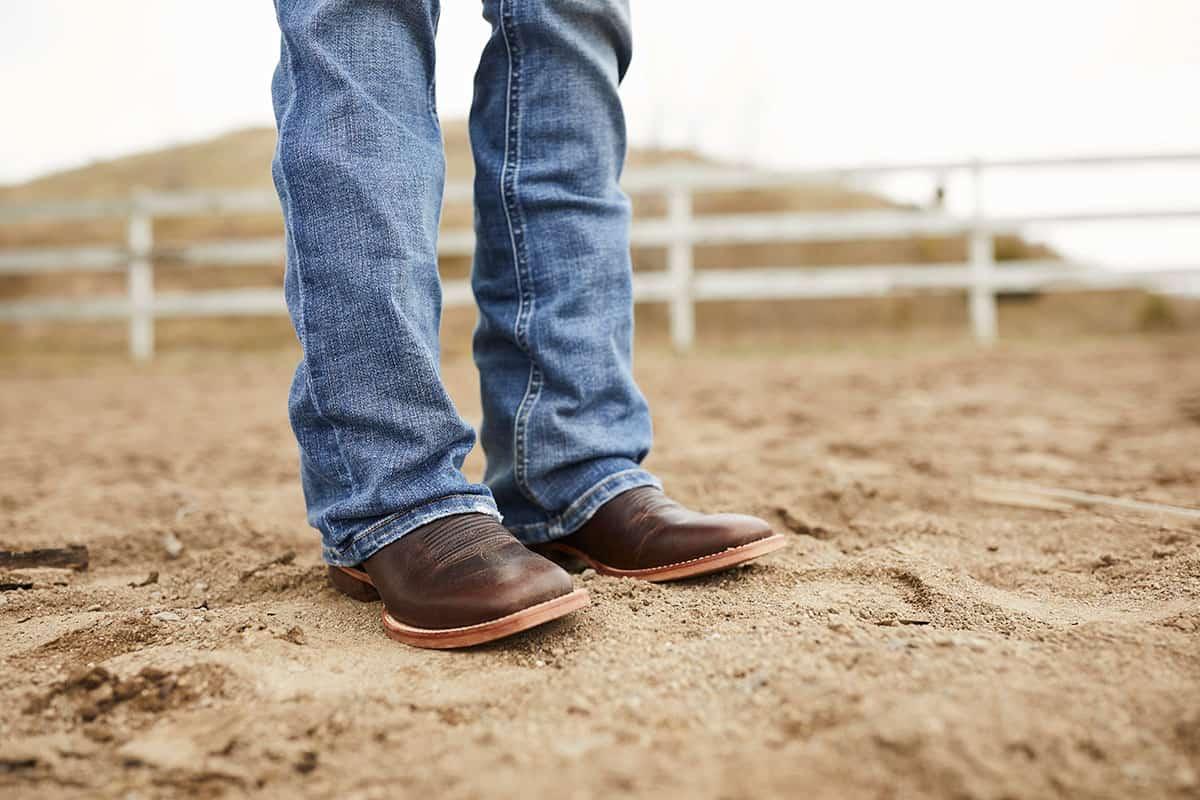 Durango® Arena Pro™ dark chestnut cowgirl magazine