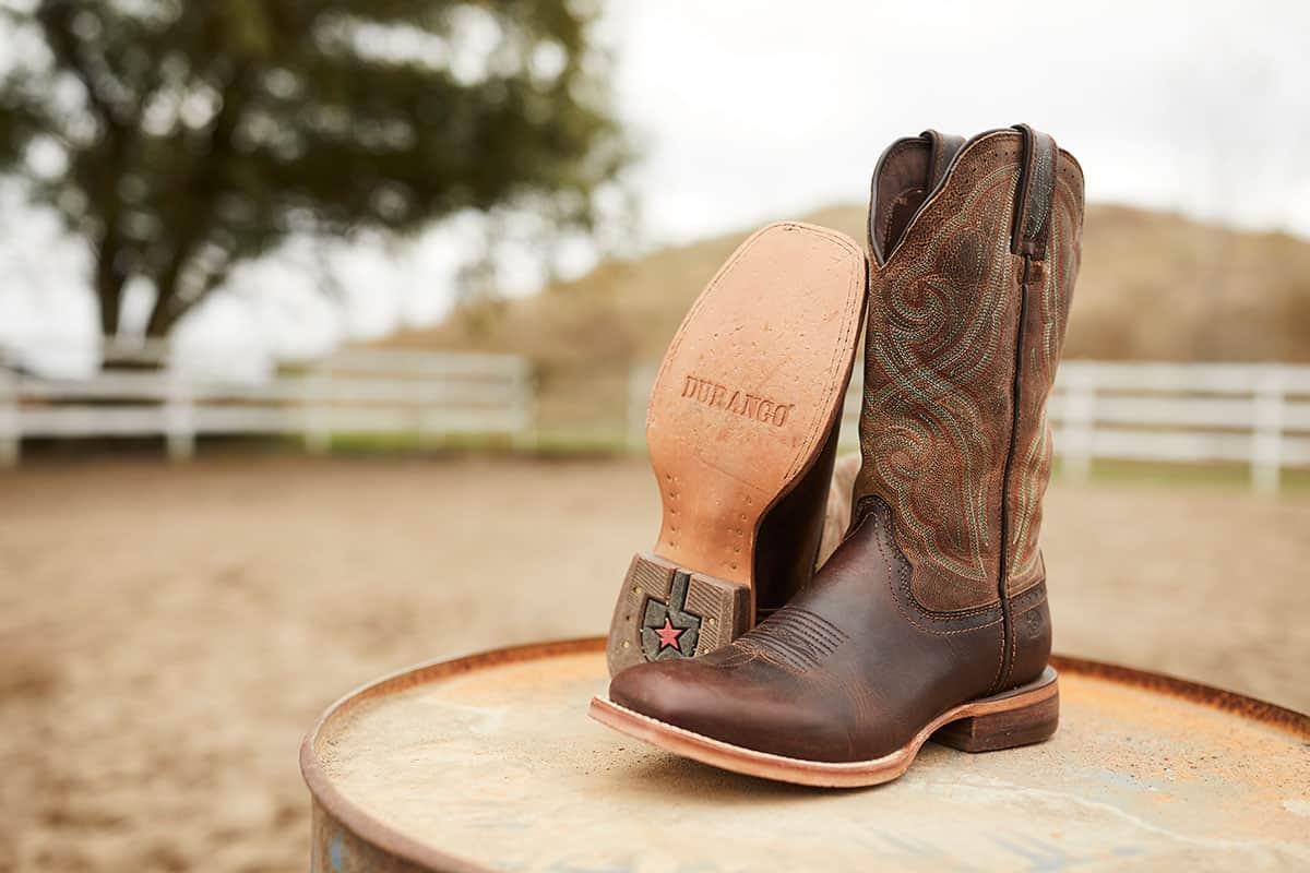 Durango® Arena Pro™ dark chestnut boot cowgirl magazine