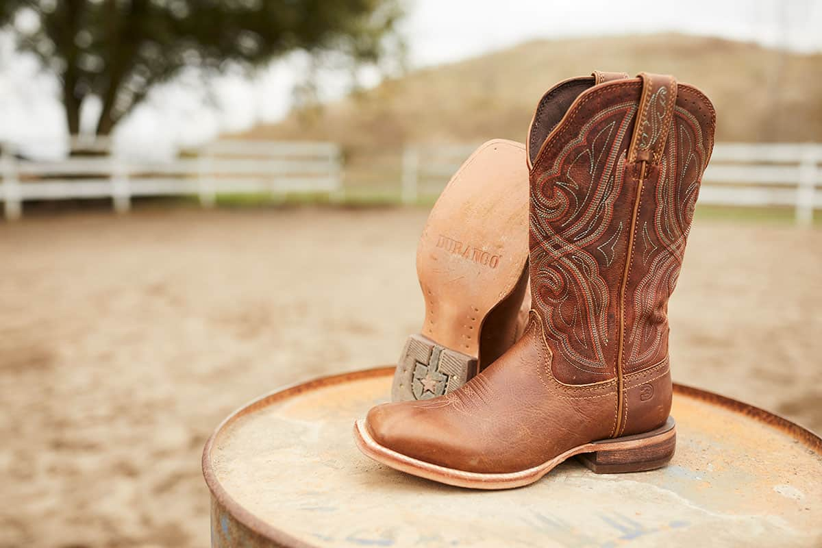 Durango® Arena Pro™ chestnut boot cowgirl magazine