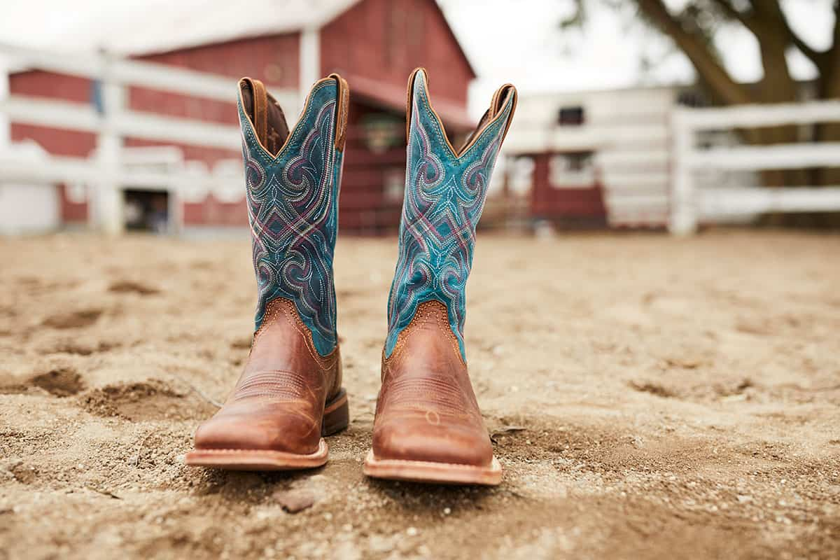 Durango® Arena Pro™ dark bay boot cowgirl magazine
