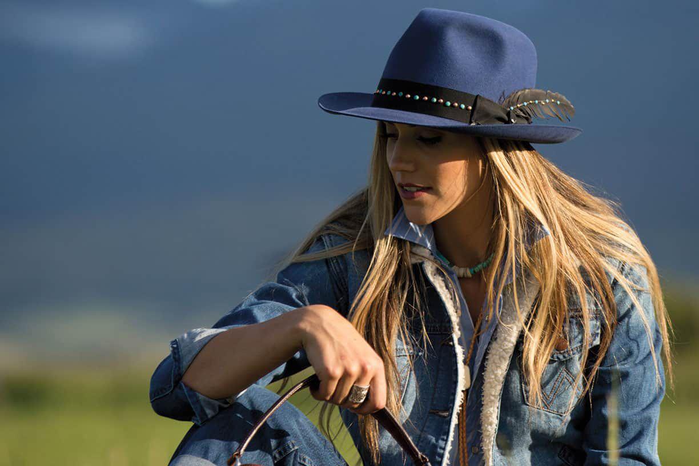 Greeley Blue Fedora Cowgirl Magazine