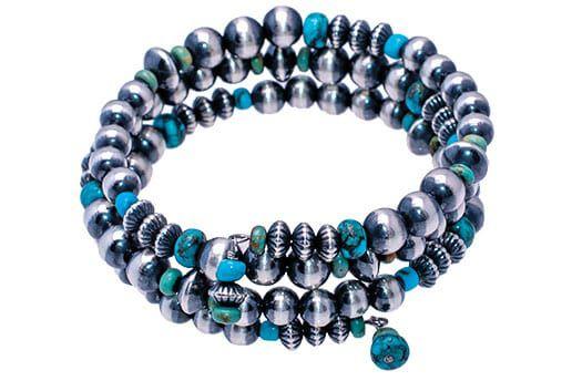 Navajo Turquoise Bracelet magazine