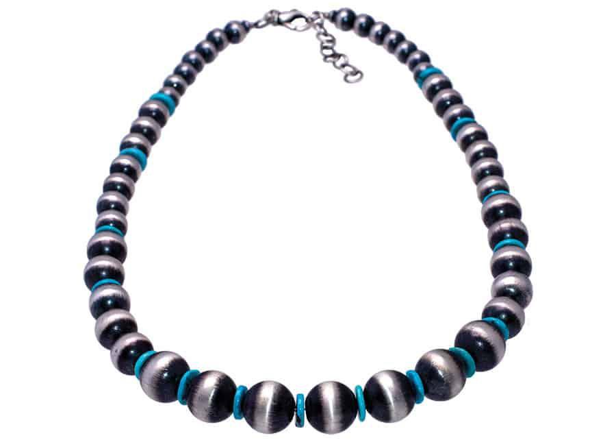 Navajo Pearl Necklace shop magazine