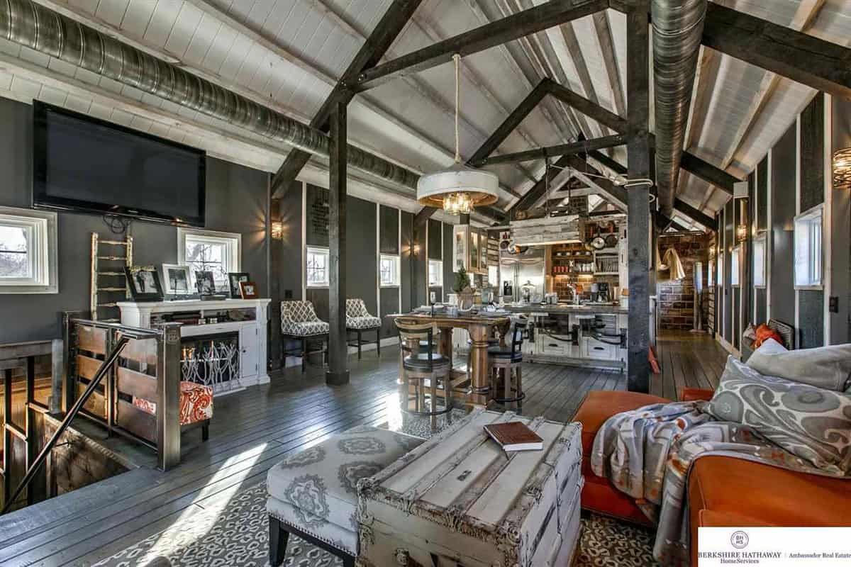 industrial barn house cowgirl magazine
