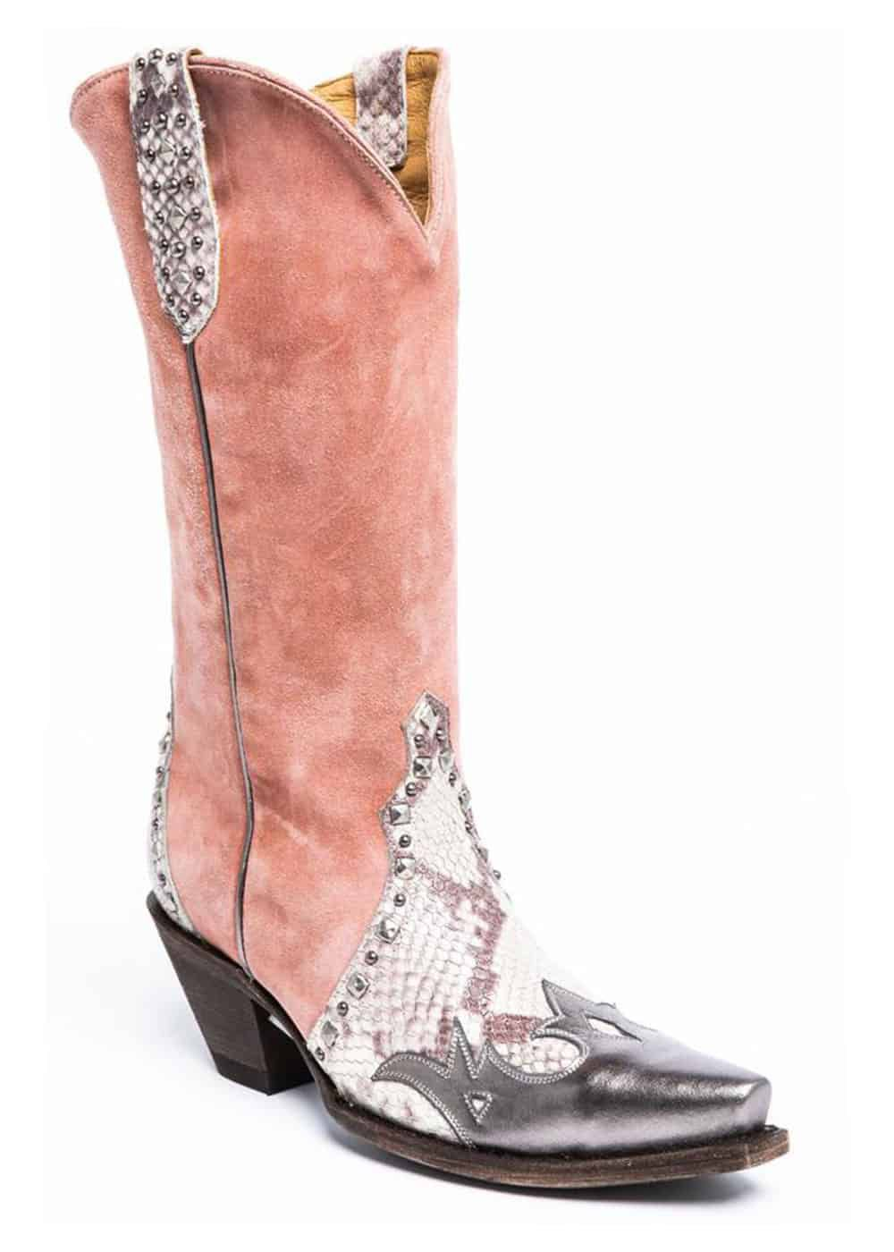 pink and python boots cowgirl magazine