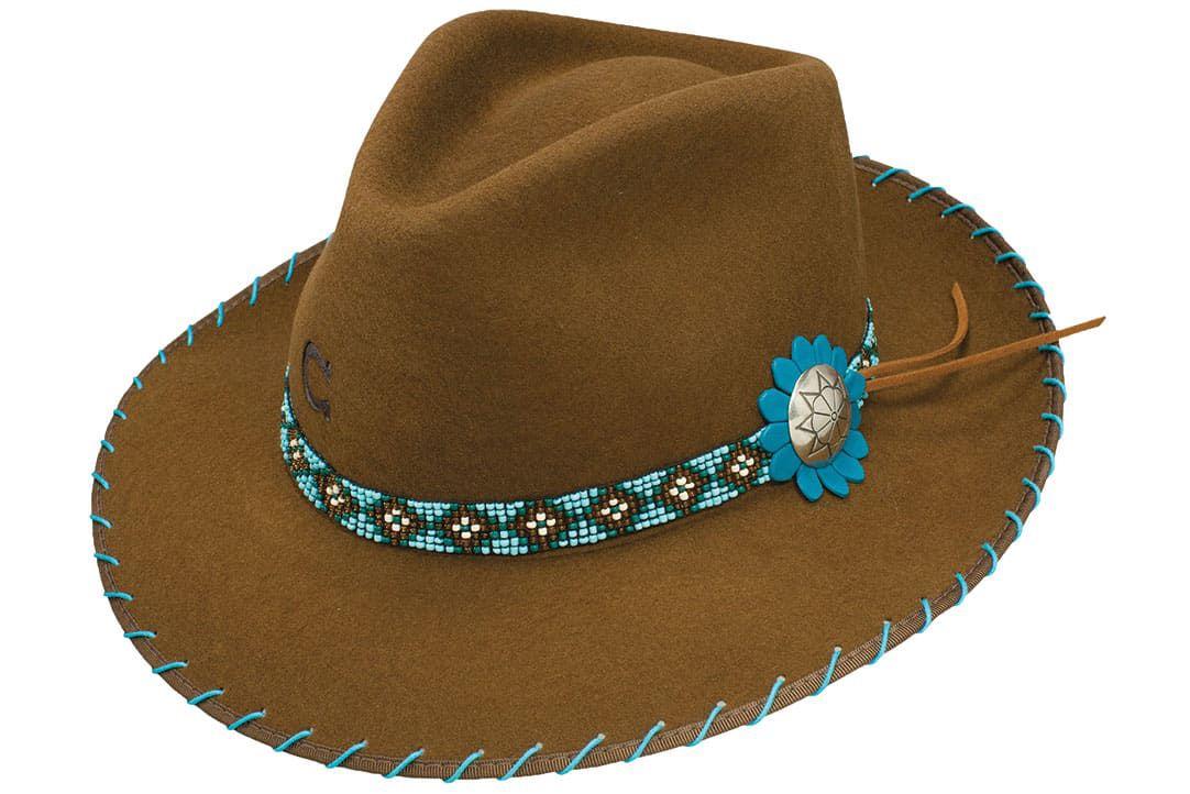 Charlie 1 Fedora Brown Cowgirl Magazine