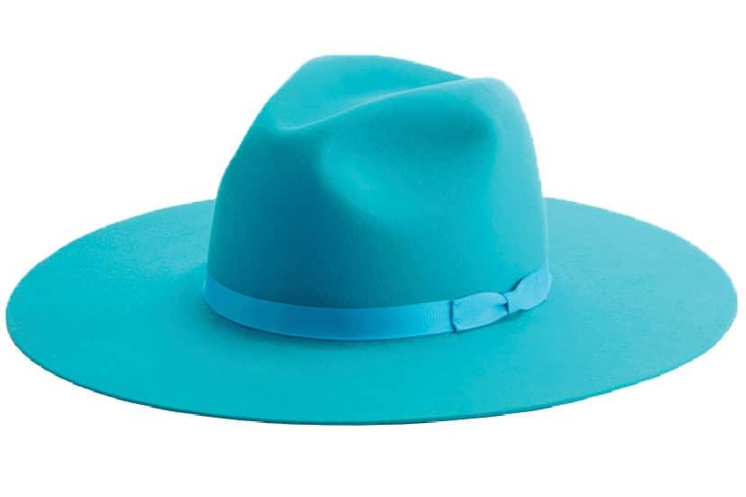 Turquoise Felt Hat Cowgirl Magazine