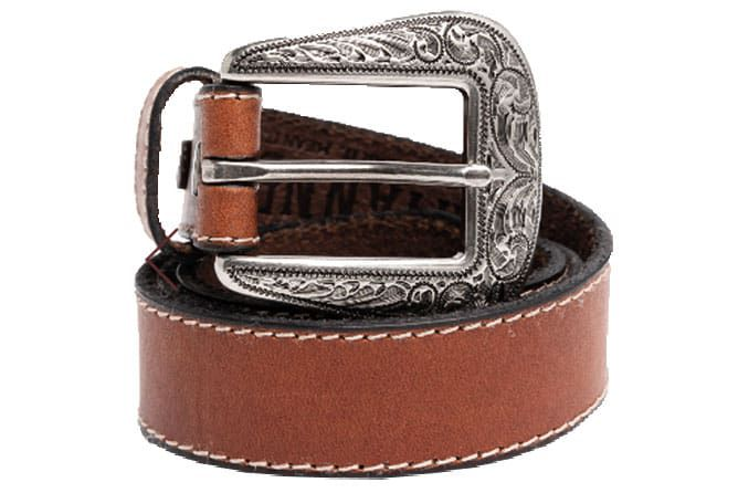 Brown Leather Belt Cowgirl Magazine