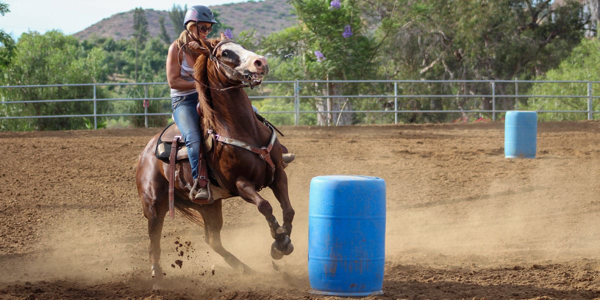 Barrel Racing Mistakes