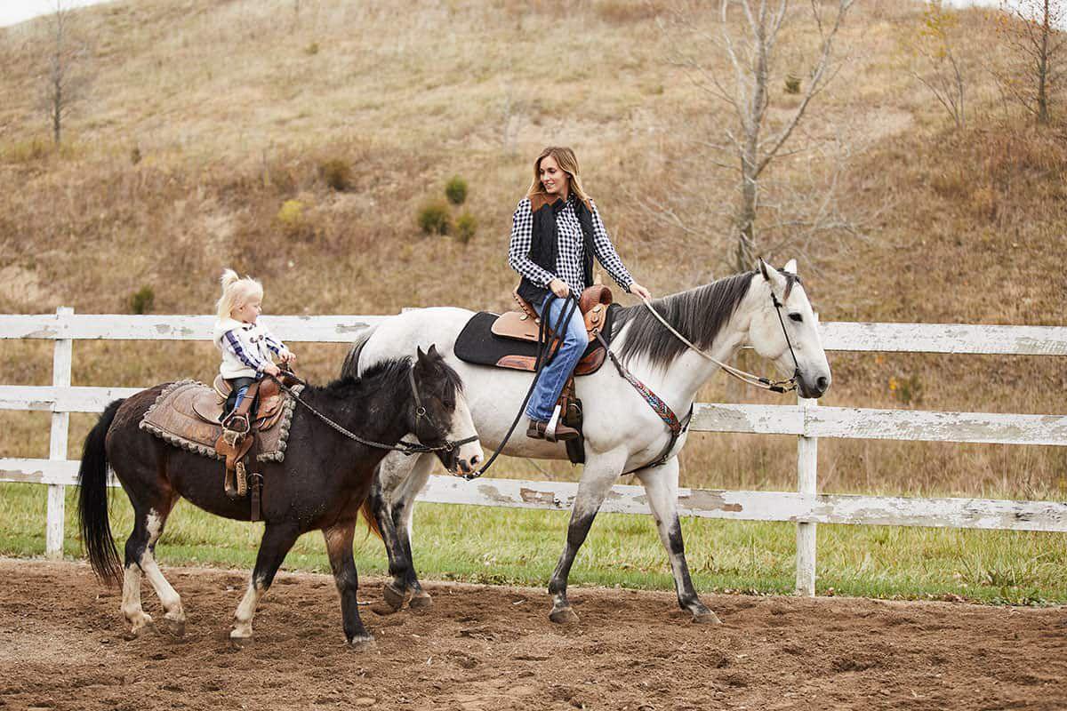 women on horses cowgirl magazine