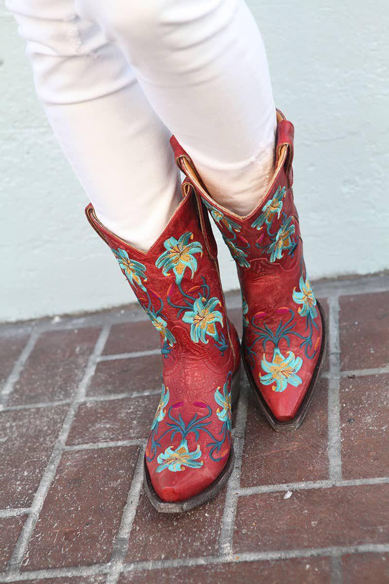 old gringo florals lillium cowgirl magazine