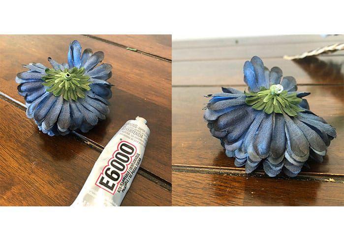 Glue Flowers Cowgirl Magazine