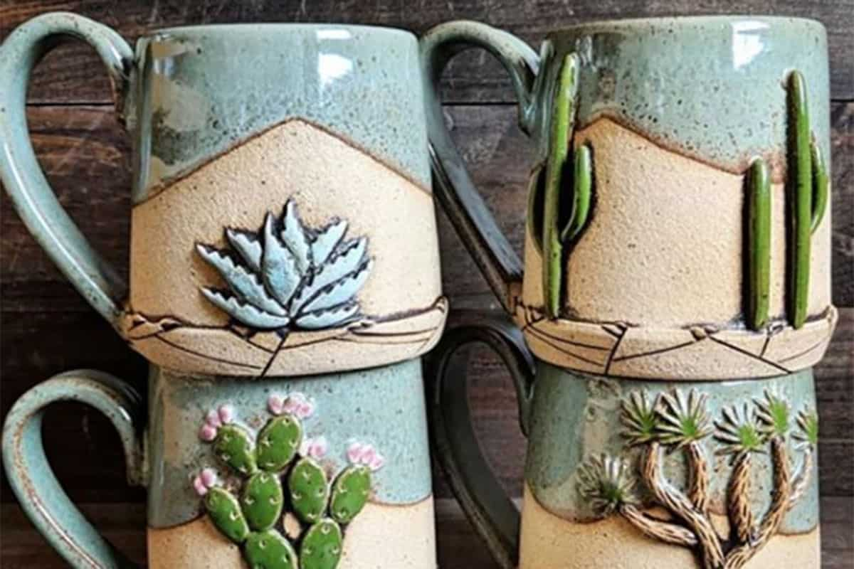 seedling clayworks cactus mugs cowgirl magazine