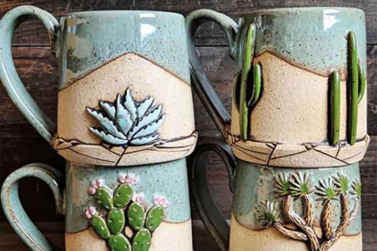 seedling clayworks cactus mugs cowgirl magazine