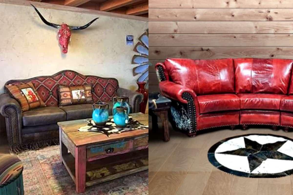 cowhide western furniture cowgirl magazine