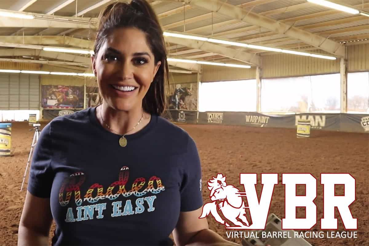 virtual barrel racing fallon taylor cowgirl magazine