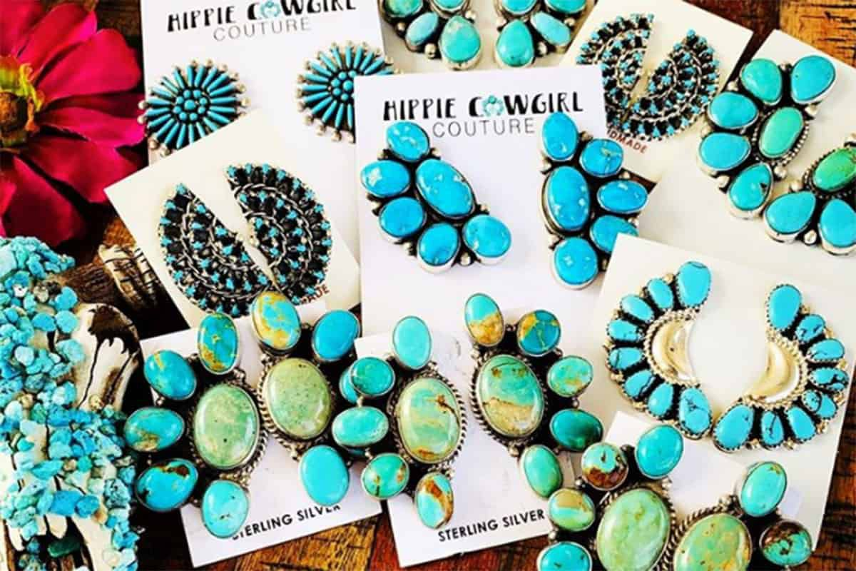 turquoise earrings cowgirl magazine