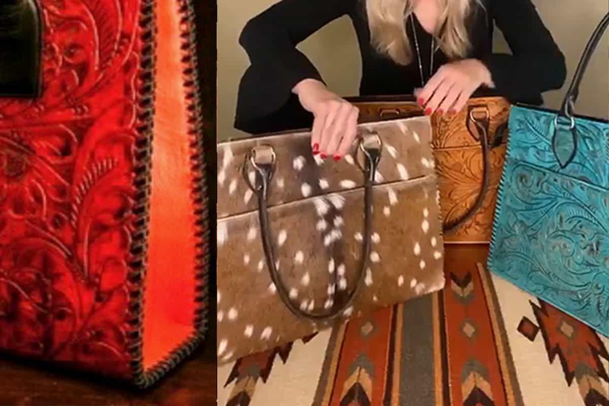 Juan Antonio cowgirl magazine purse purses bag bags laptop bag cowgirl magazine