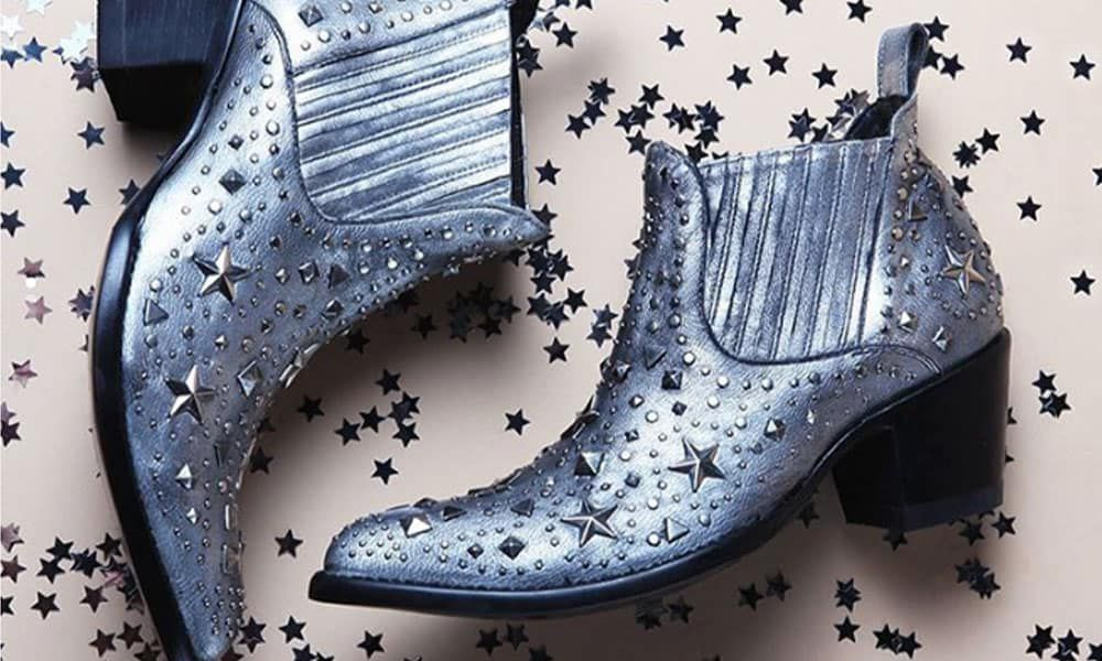 metal star old gringo boots