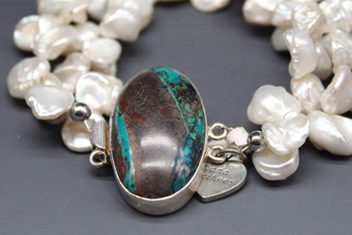 pearls and turquoise dana voorhees jewelry cowgirl magazine