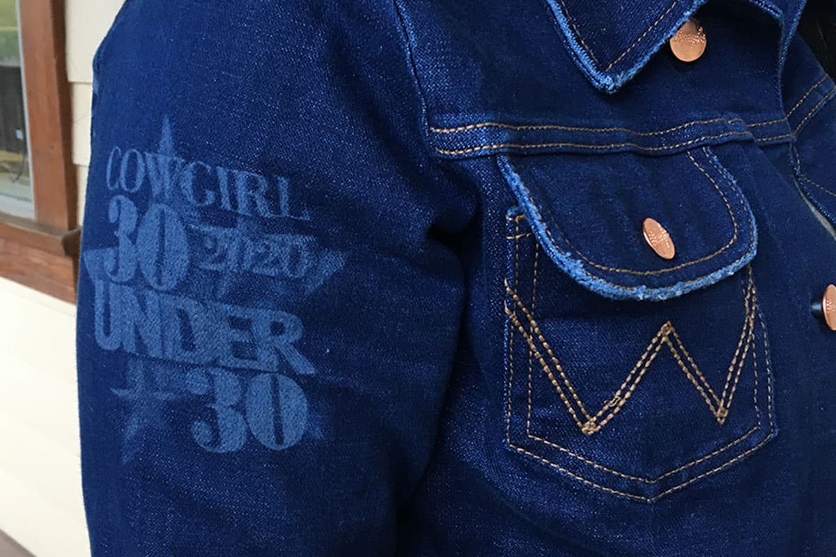 wrangler custom jacket 30 under 30 cowgirl magazine