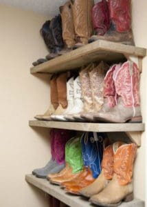 Cowboy Boot Storage Cowgirl Magazine