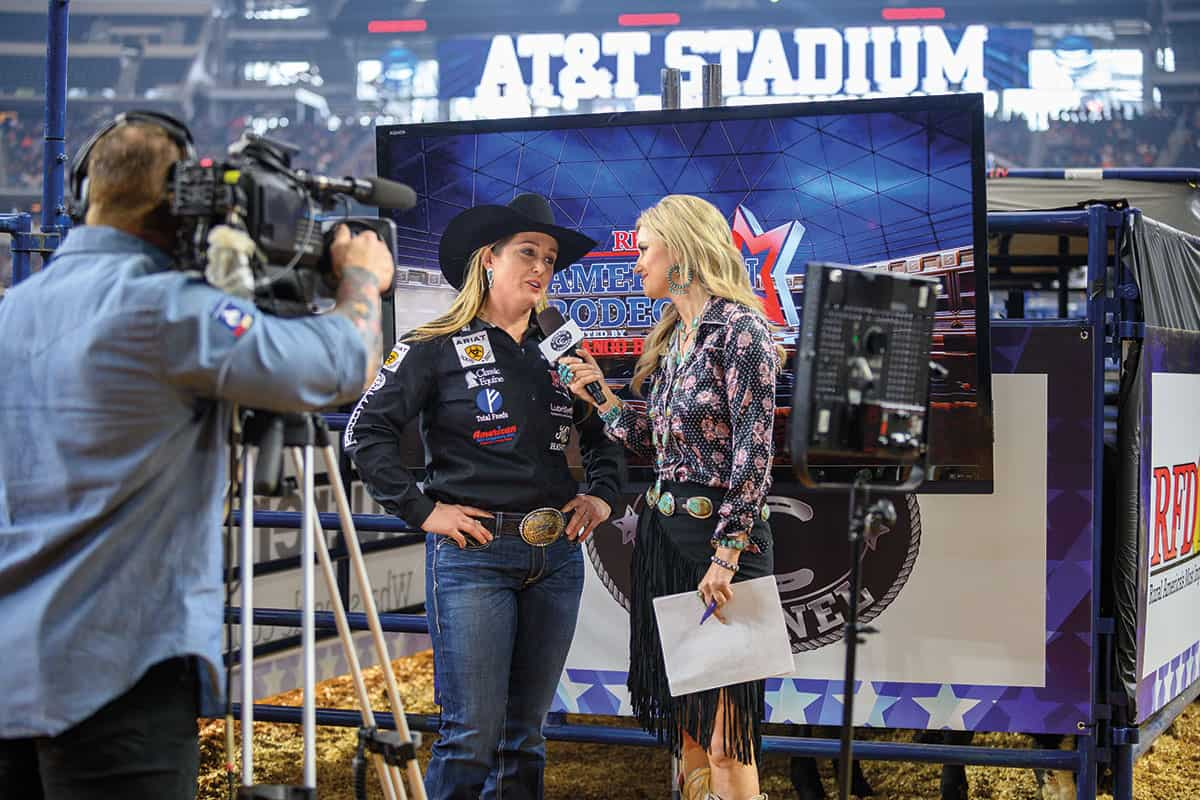 jackie crawford rfd-tv's the american cowgirl magazine