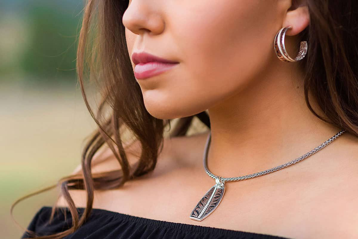 hope feather collection montana silversmiths cowgirl magazine