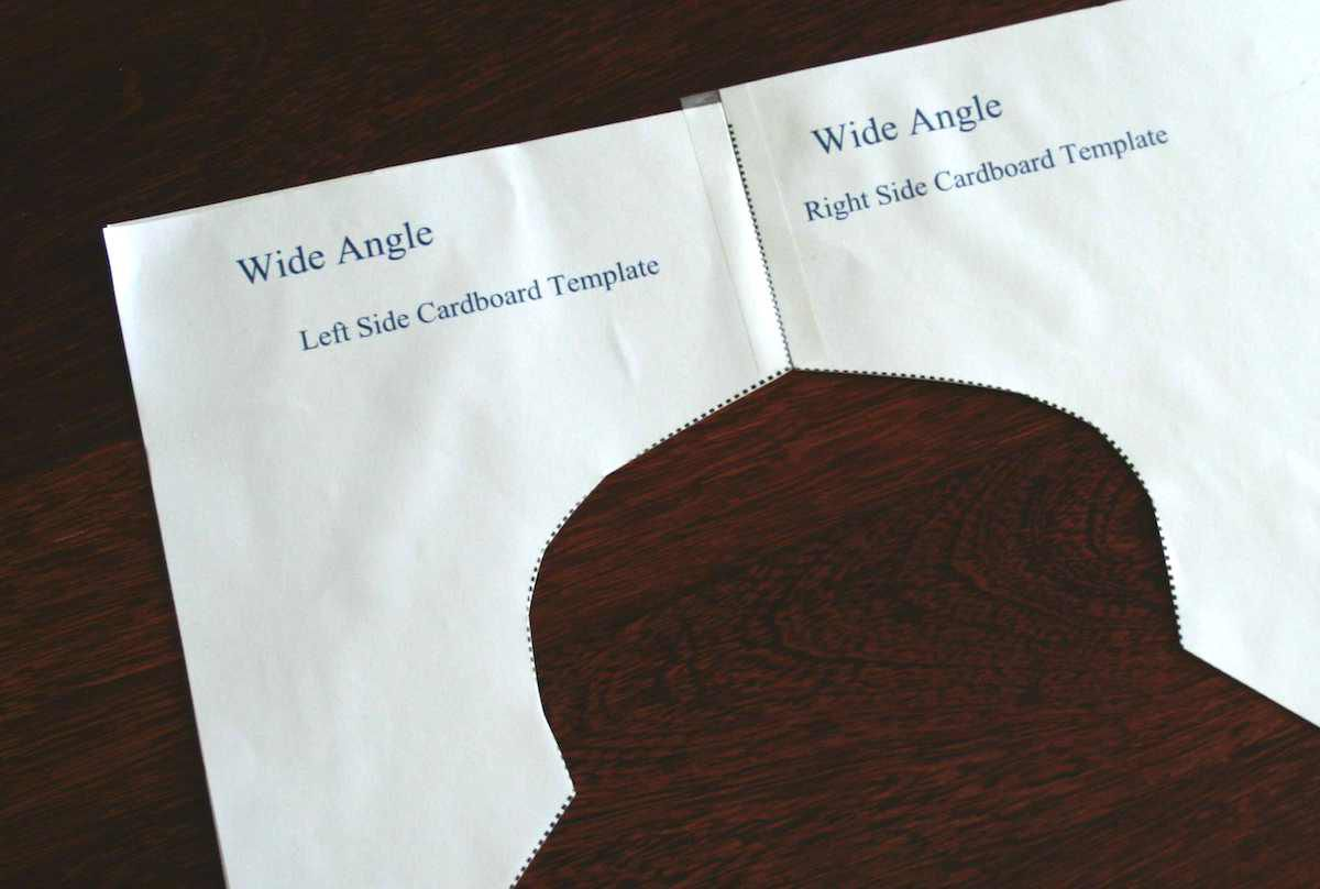 Saddle Fitting Template