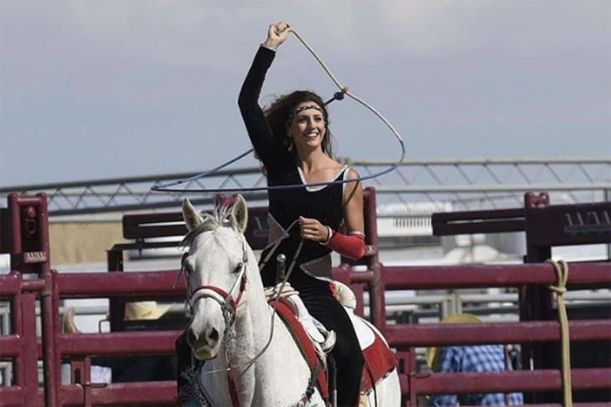 brandi phillips trick riding and roping cowgirl magazine