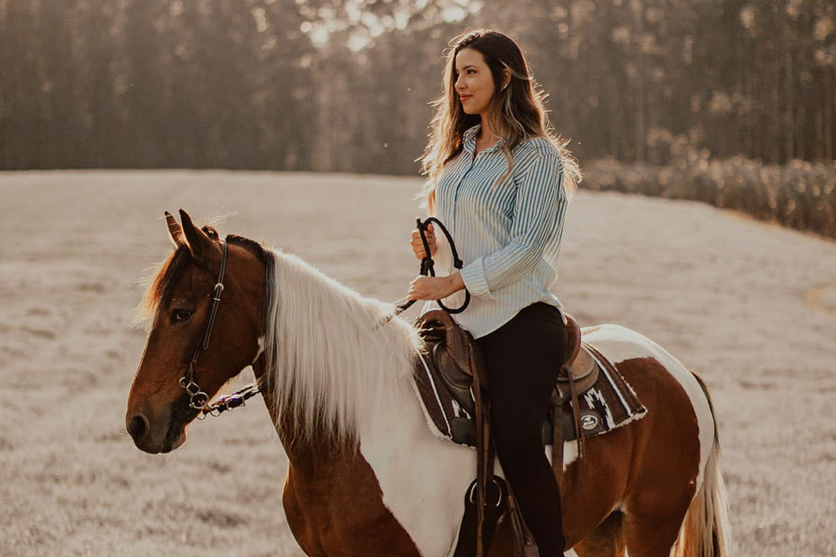 earth day horse ride cowgirl magazine