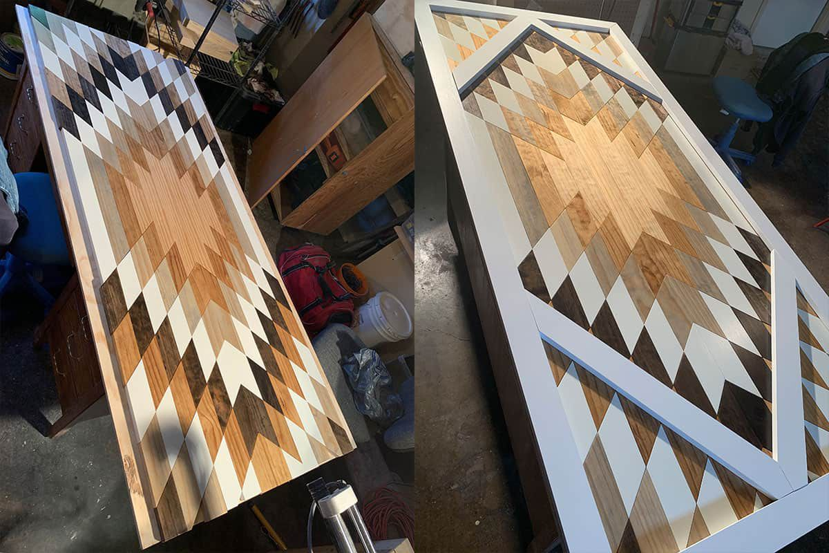 kitchen island mike armstrong woodwork custom woodwork wood art cowgirl magazine