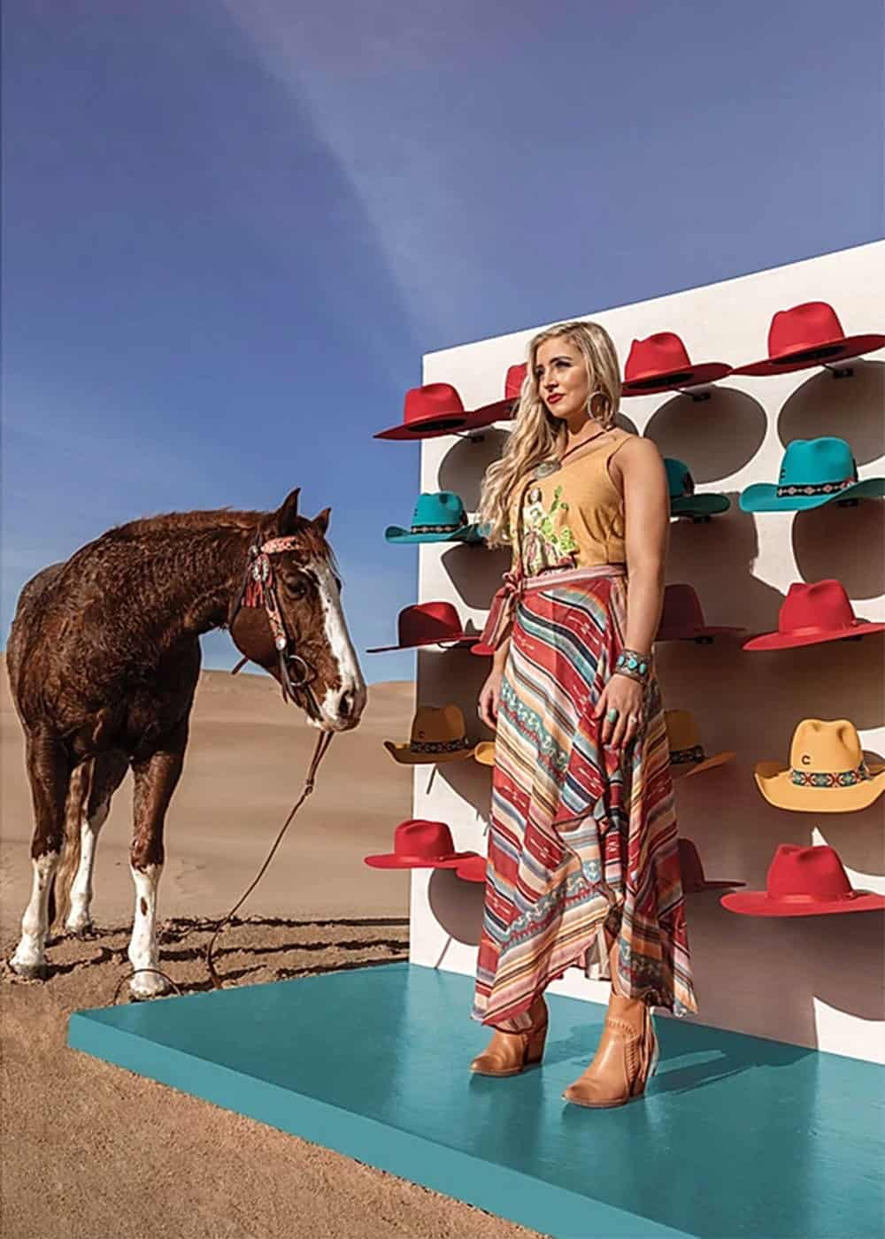 boot barn's shoot with rodeo quincy cowgirl magazine