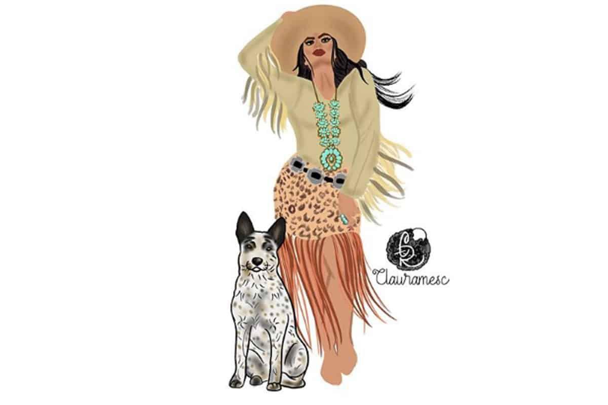 Western Digital Art Cowgirl Magazine