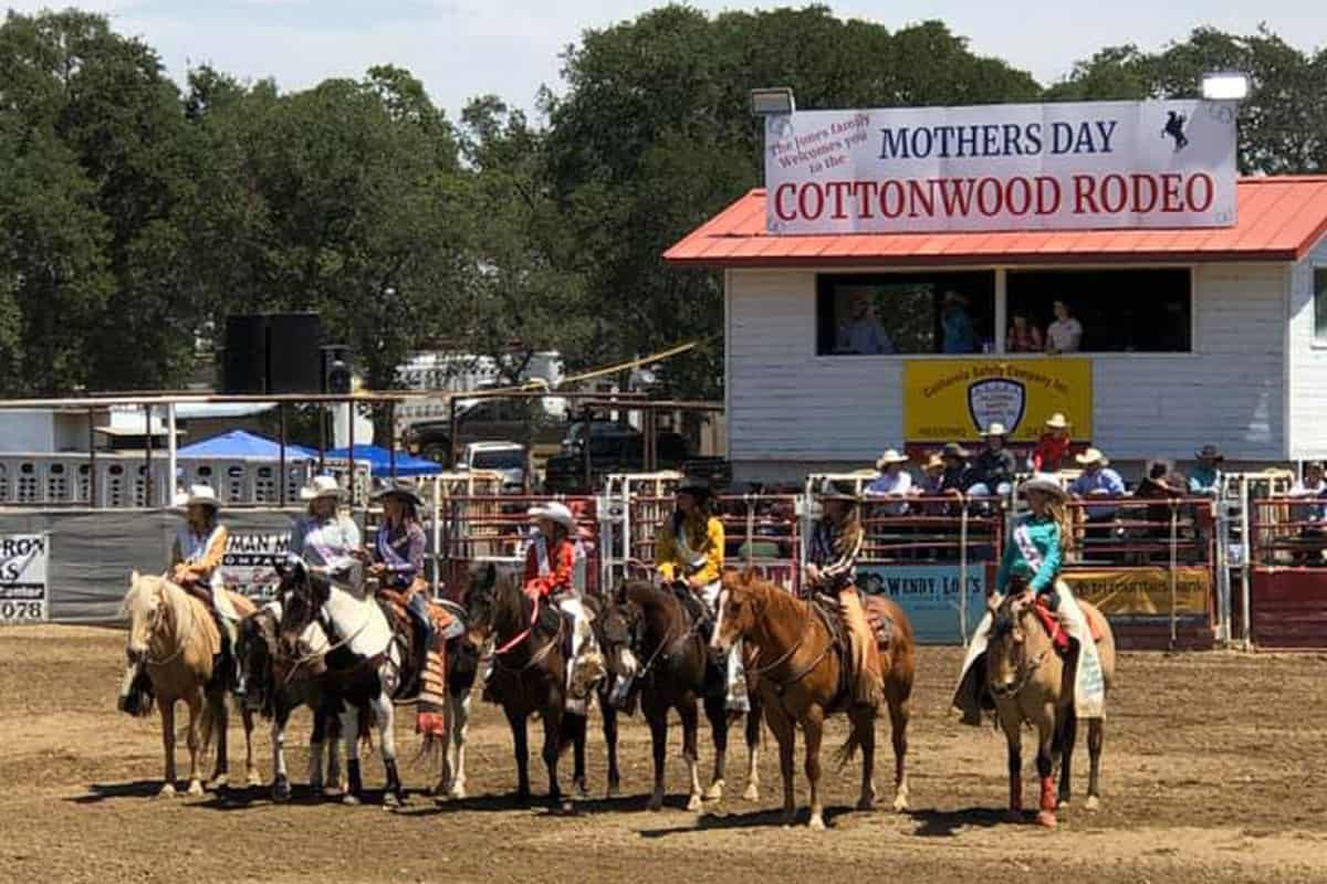 Cottonwood Mother's Day Rodeo Cowgirl Magazine