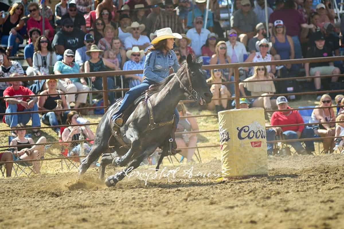 Barrel Racer Cottonwood Cowgirl Magazine