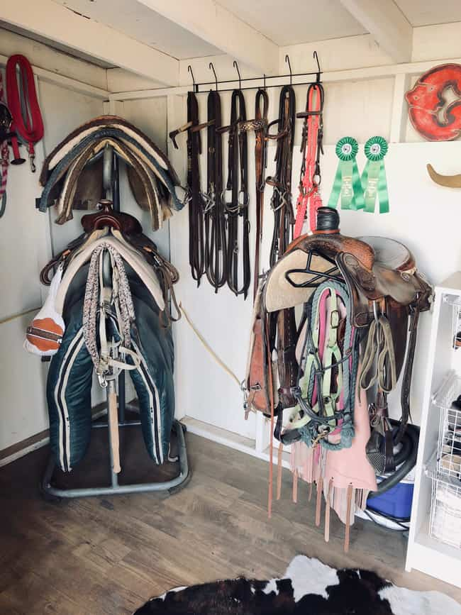tack room shed cowgirl magazine
