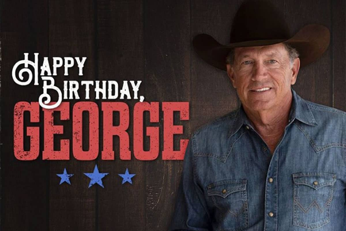 happy birthday George cowgirl magazine